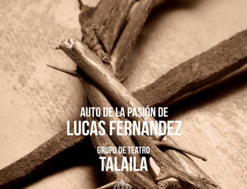 La Semana Santa de El Paso presenta en su programa de actos tradicional,  la representación del Auto de La Pasión, del escritor renacentista Lucas Fernández.