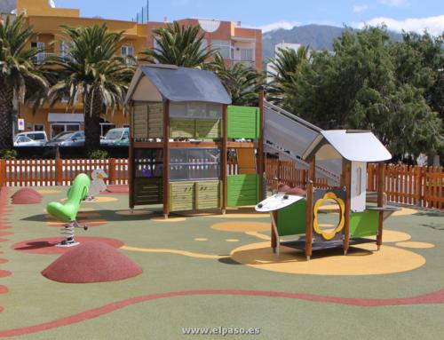 El Paso inauguró este viernes el primer parque infantil adaptado-inclusivo de La Palma.