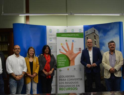 El Consorcio de Servicios de La Palma amplía la recogida de biorresiduos a Tazacorte y nuevas zonas de Los Llanos de Aridane
