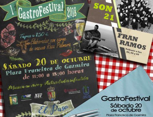 """Este sábado """"l GastroFestival El Paso"""""""