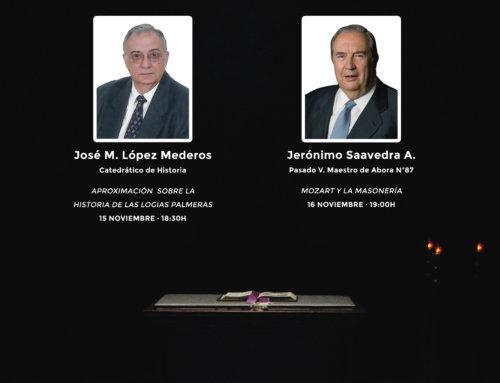 Jornadas sobre masonería en El Paso