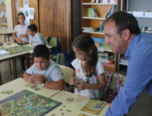 """El Ayuntamiento de El Paso celebra el día internacional de la infancia acercando a los colegios el proyecto """"Planeta Feliz"""""""
