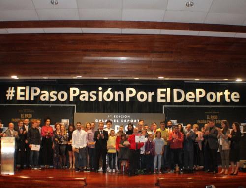 """ÉXITO DE LA I GALA """"EL PASO PASIÓN POR EL DEPORTE"""" ORGANIZADA POR LA CONCEJALÍA DE DEPORTES DEL AYUNTAMIENTO DE EL PASO."""