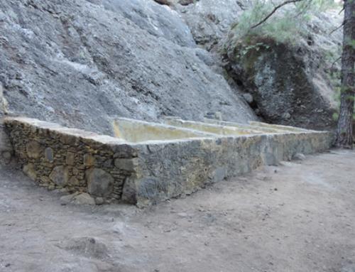 Restauración y recuperación de los lavaderos y el entorno de la Fuente del Pino en el Barranco del Riachuelo de El Paso.