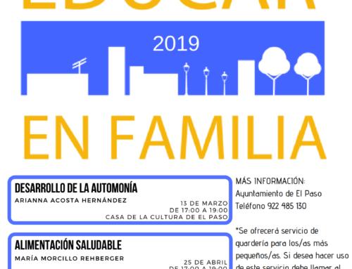 """El programa formativo  """"Educar en Familia"""" en El Paso"""
