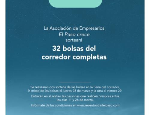 """""""EL PASO CRECE"""" Y """"REVENTÓN TRAIL"""" SORTEAN BOLSAS COMPLETAS DEL CORREDOR ENTRE LOS CLIENTES."""