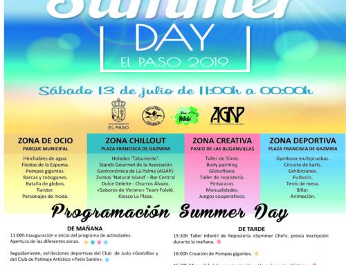 """Este sábado llega la III edición del """"Summer Day"""" a El Paso"""