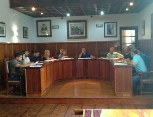 El pleno de El Paso aprueba por unanimidad la organización de la nueva Corporación  y las retribuciones de sus concejales