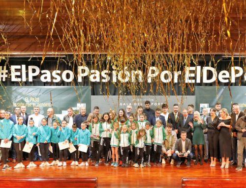 La Gala 'El Paso, Pasión por el Deporte' reconoce los valores del éxito