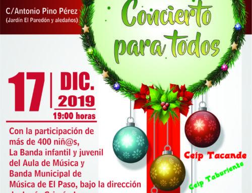 Más de 400 escolares cantan a la Navidad en El Paso