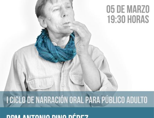 Paco del Pino estrena en El Paso el I Ciclo Interinsular de Narración Oral para público adulto