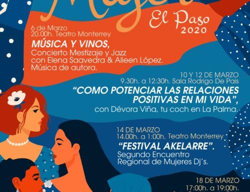 El Paso reivindica la igualdad efectiva con diversas actividades por el Día Internacional de la Mujer