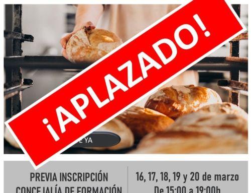 Curso de Panadería Artesana con masa madre (APLAZADO)